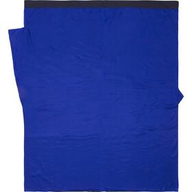Cocoon TravelSheet Drap pour sac de couchage Soie Doublesize, tuareg/ultramarine blue